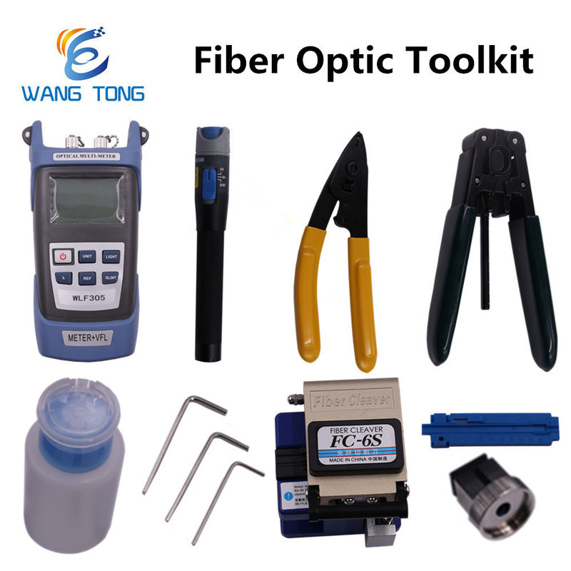 9 In 1 Fiber Optic Tool Kit Fiber Optic Installation Tools For FTTH FTTB FTTX Network